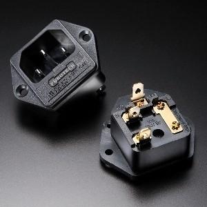 Furutech FI-03 IEC Inlet Gold