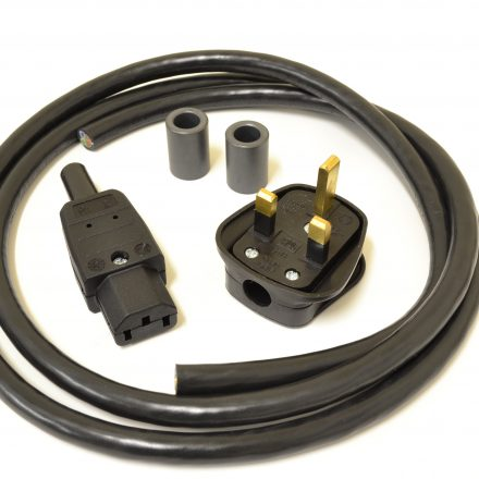 MCRU No. 4 DIY Mains Lead Set