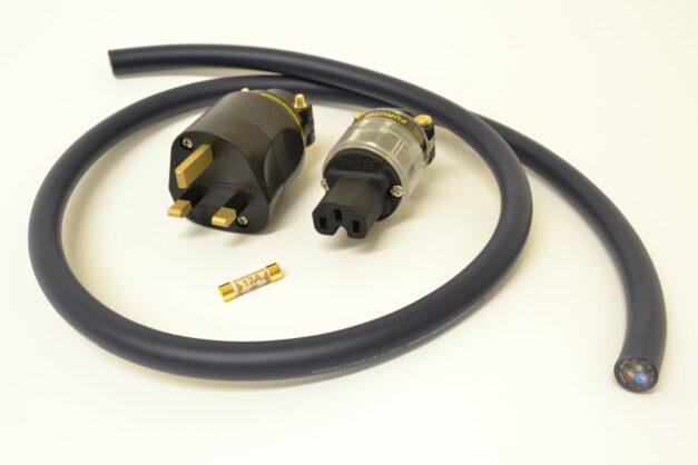 MCRU No. 11 DIY Mains Lead Set | NEW Furutech Plug