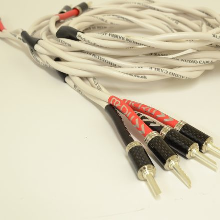 Black Rhodium Samba MCRU Special Edition Speaker Cables