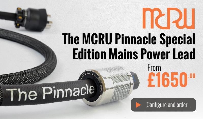 The MCRU Pinnacle SE Power Lead